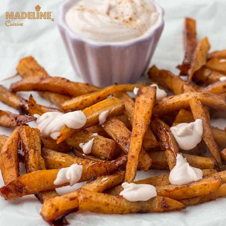 Cartofi dulci copti cu scortisoara / Cinnamon roasted potatoes