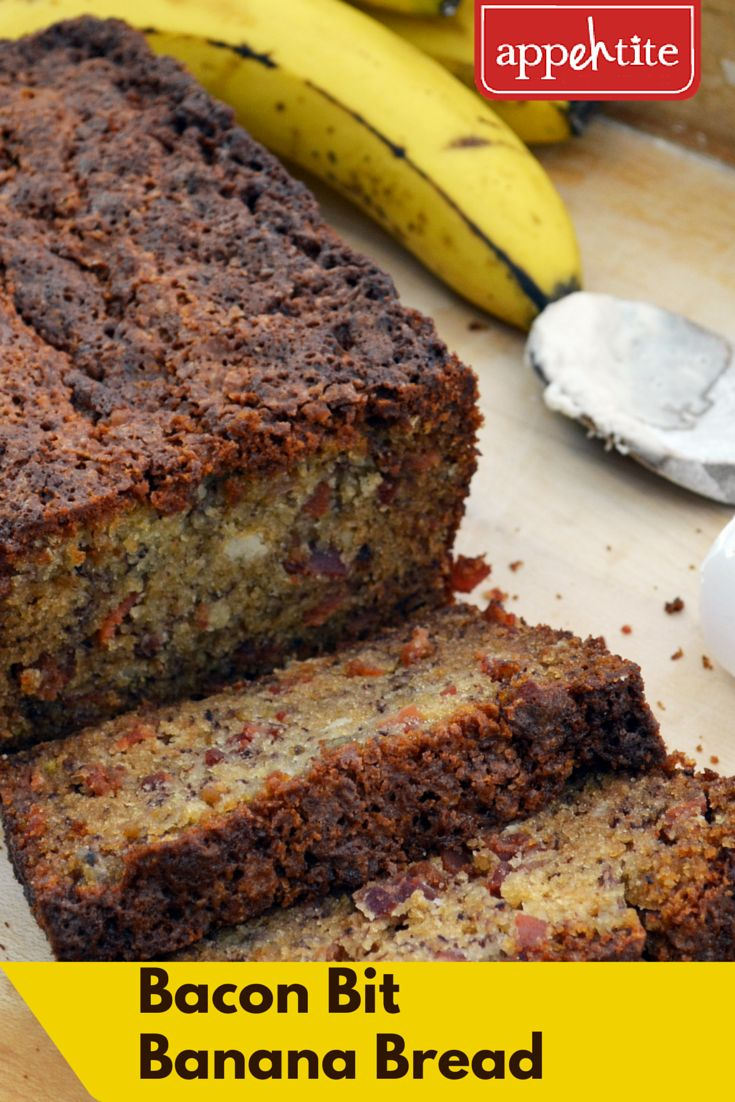 Adding a slice of #Bacon Bit #Banana #Bread is the perfect way to brighten any kid's day for the first day #BackToSchool  #appehtite