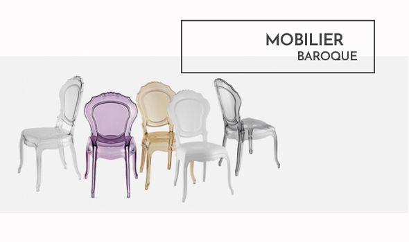 Décoration Mobilier au style #baroque, meubles design aux matières lumineuses et authentiques, à voir absolument sur  www.cosy-tendance.com