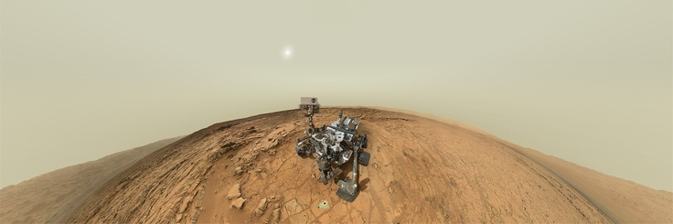 Stand on Mars Next to the Curiosity Rover With This Incredible Panorama