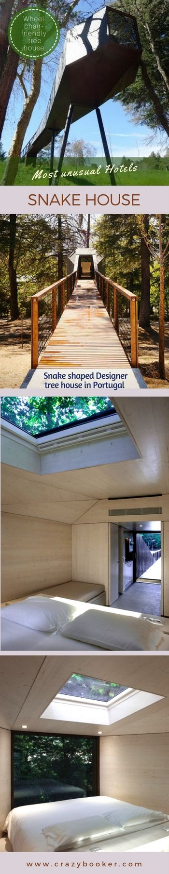Unique Hotels Of The World |Tree Snake House   Modern Designed Treehouse In  Portugal | A 5 Star Hotel In The North Of Portugal Offers Two Unique Design  ... Amazing Ideas
