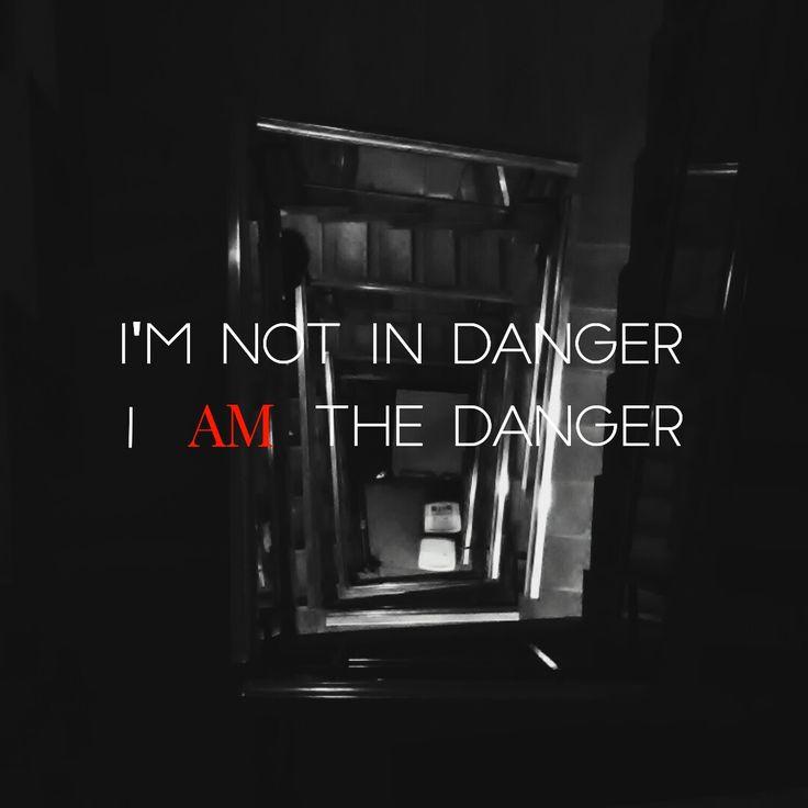 """""""I'm not in danger, i am the danger"""""""