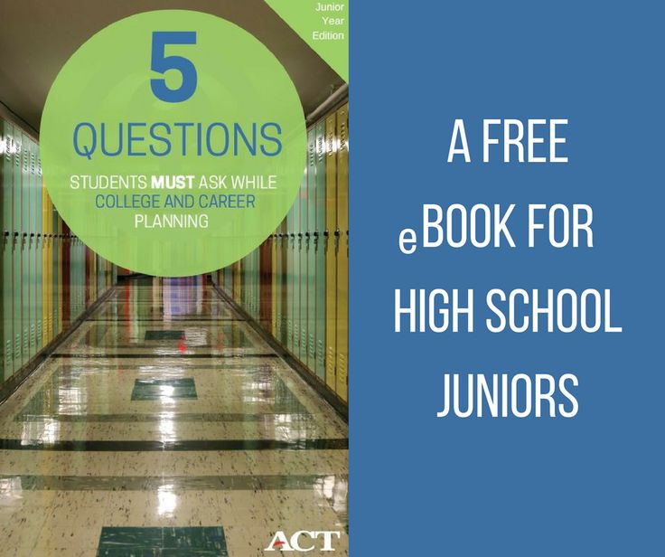 34 best the act for students images on pinterest the act high junior year guide get answers to all of your students college and career planning questions fandeluxe Image collections
