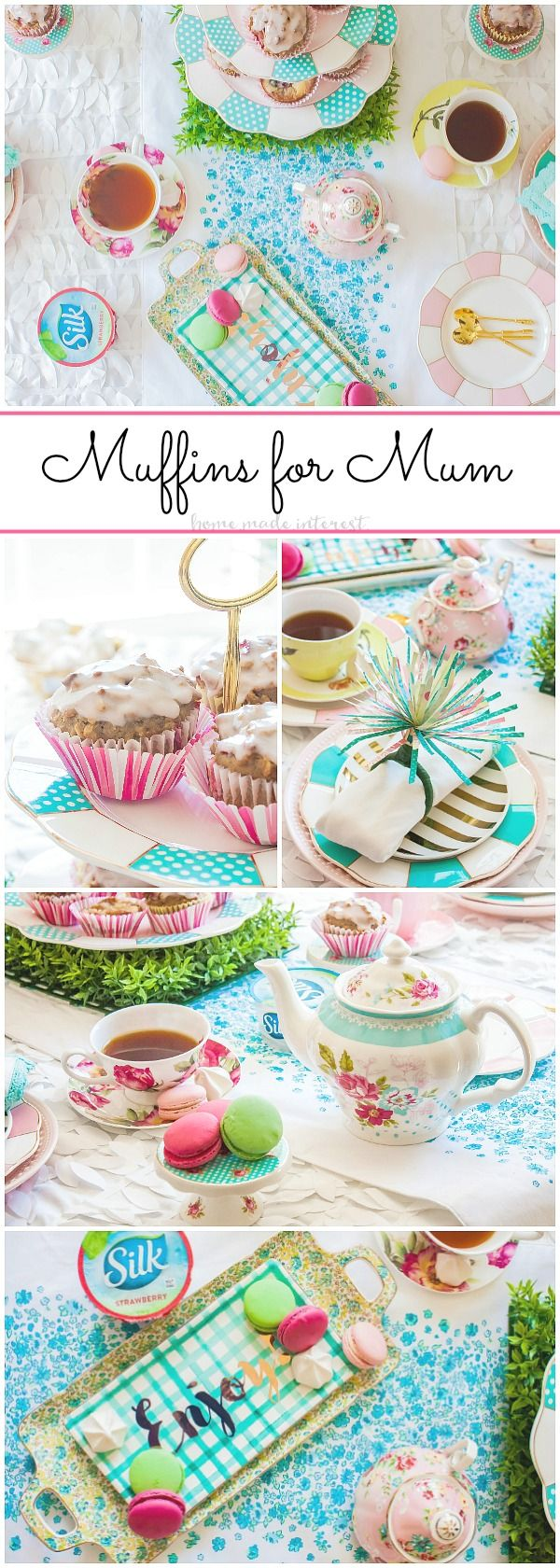 It's never to early to start planning for Mother's Day! Who can resist dairy-free muffins with Mum?!