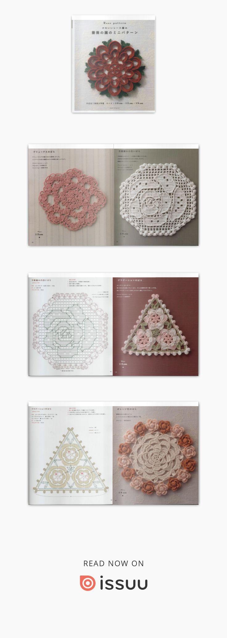 49 best 꽃 images on Pinterest | Crocheted flowers, Crochet flower ...