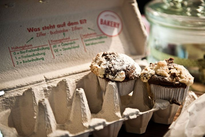 The Daniel Hotel in Vienna   Yatzer  (...cute idea for mini muffins/cupcakes)