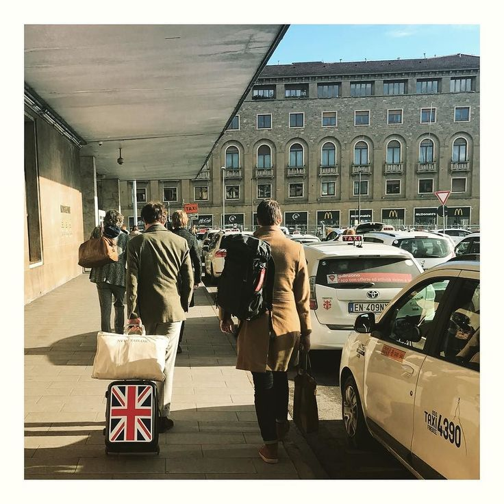 Arrived! #firenze #florence #pitti93 #pittiuomo #italy #italia #newtailor
