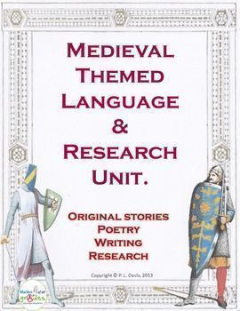 This is a Language and research unit of work written for students around medieval themes. The unit has numerous activities that will appeal to various age groups, as individual tasks, group activities, extension, as a book of work to be completed etc.