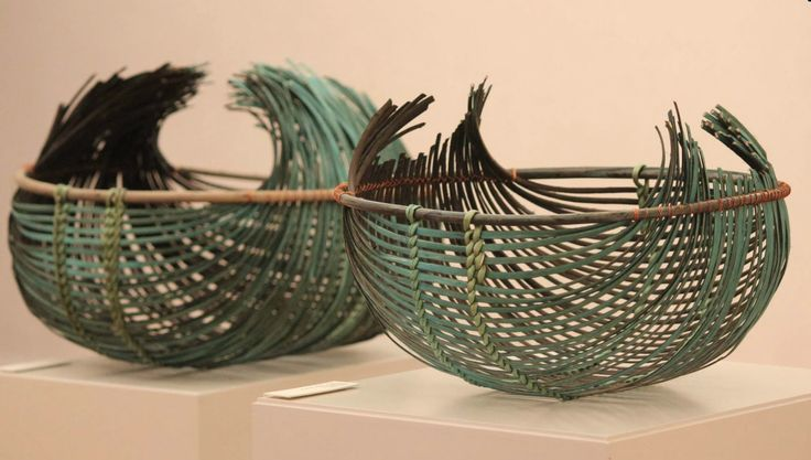 Contemporary Basketry: Green