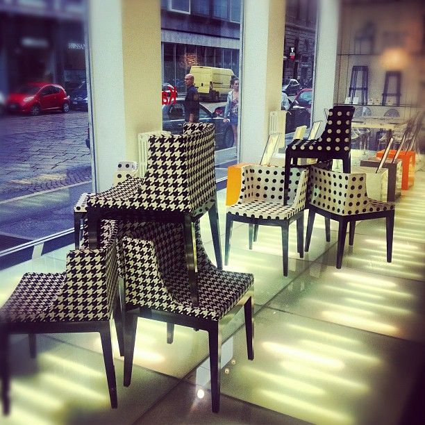 B and W  - Mademoiselle by Philippe Stark at Milan Flagship Store