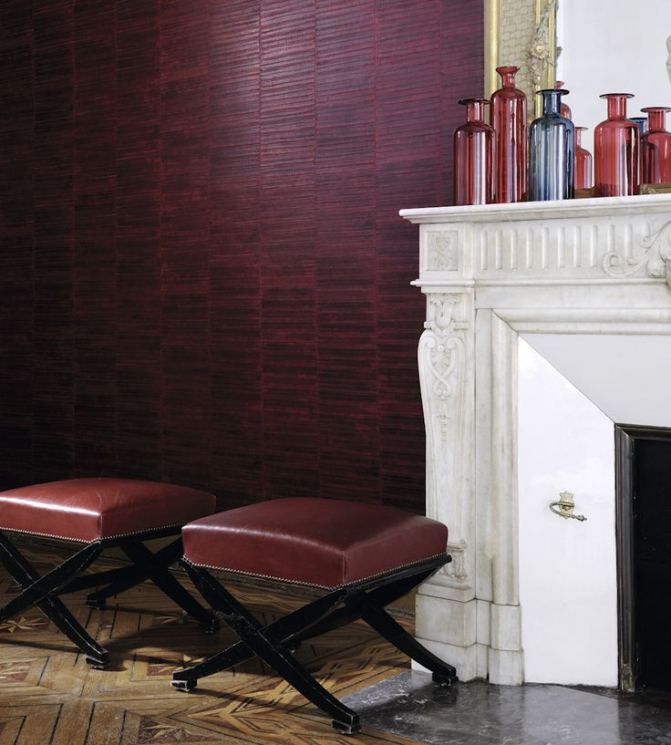 Trend for Texture | Anguille Wallpaper by Elitis | Jane Clayton