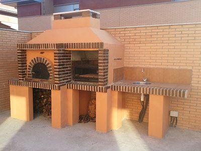 17 mejores ideas sobre horno de ladrillo exterior en - Cocinar horno de lena ...