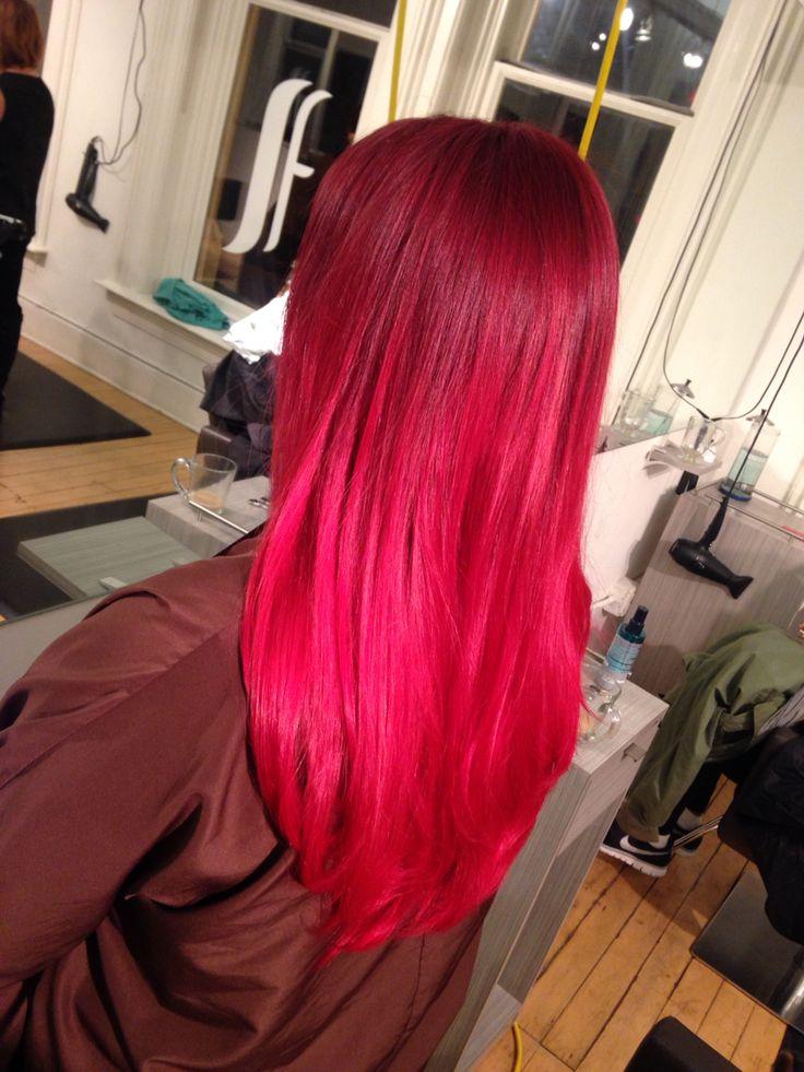 25+ best Vibrant Red Hair ideas on Pinterest | Maroon hair ...