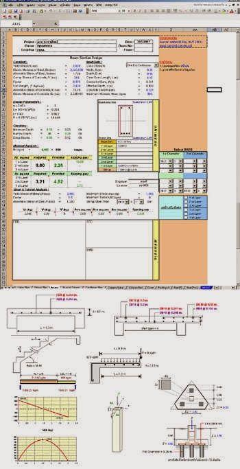 Cálculo y Diseño en Concreto Armado http://ht.ly/CiSLD   #Isoluciones #PlanillasExcel #Estructuras