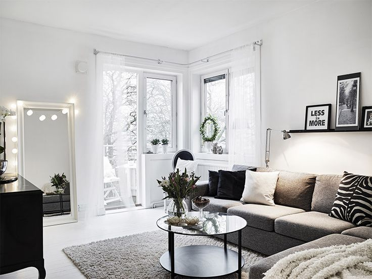 How to decorate a white apartment to make it cozy and comfortable