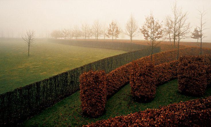 Парк по проекту Жака Вирца в Бельгии