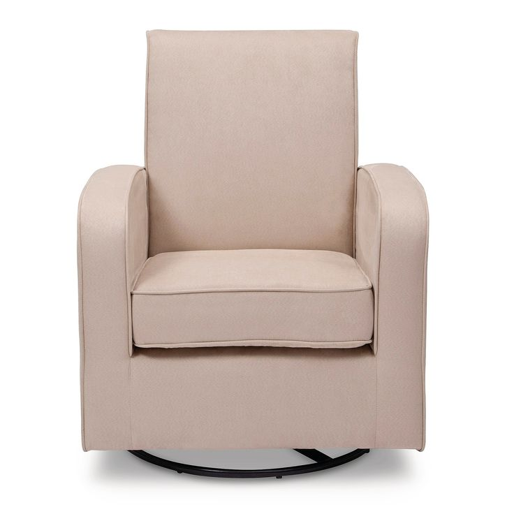 Delta Children Clermont Nursery Glider Swivel Rocker Chair - Ecru