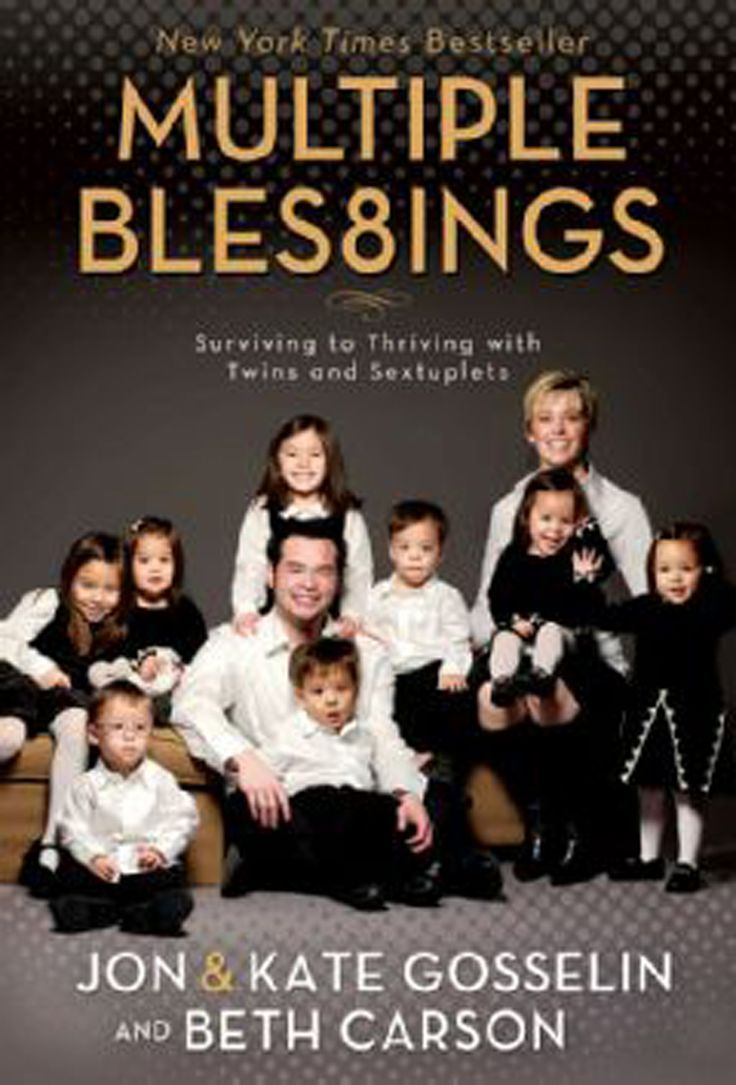 Eight children in three years? Impossible!  Kate and Jon Gosselin have learned that, through God, all things are possible—though sometimes slightly improbable.  Just three years after giving birth to twin daughters, Kate and Jon learned they were pregnant again—with sextuplets. In Multiple Blessings, Kate candidly chronicles the emotional and exhausting challenges she and Jon faced from the time the babies were conceived through the first two years of their lives.  This amazing story of…