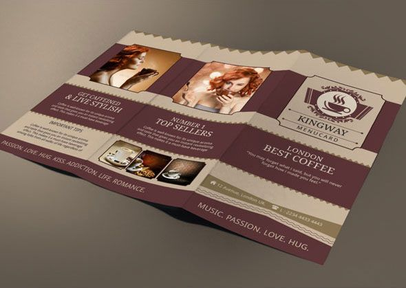 12 best 12 Refreshing Coffee Shop Brochure Designs images on - coffee shop brochure template
