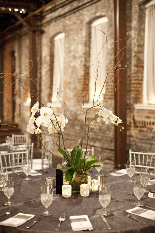 art deco wedding decorations 1000 ideas about orchid centerpieces on 1365