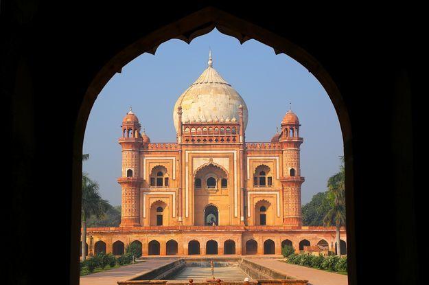 Travel on India // Trip on India // Lune de miel en Inde, tombe de Safdarjung à New Delhi