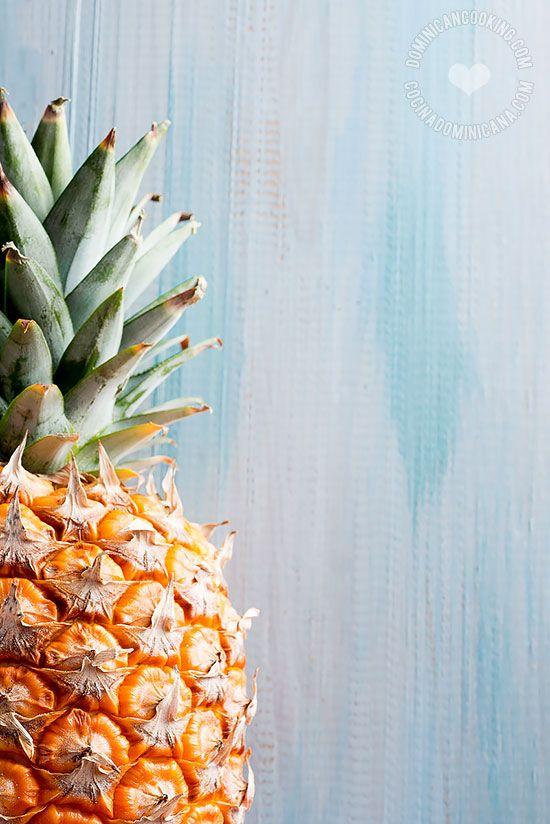 Receta Dulce de Leche con Piña: un postre fácil de preparar y que combina texturas y sabores, el ligero toque agrio de la piña lo hace un postre muy interesante.