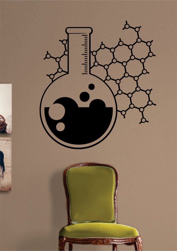 Chemistry Beaker The latest in home decorating. Beautiful wall vinyl decals, that are simple to apply, are a great accent piece for any room, come in an array of colors, and are a cheap alternative to                                                                                                                                                      More