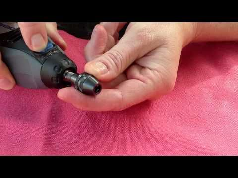 How to Use a Dremel Multi Chuck. How to attach your drill bits and burrs into your Dremel Multi Chuck.  Sounds simple, but lots of people ask how to do it.