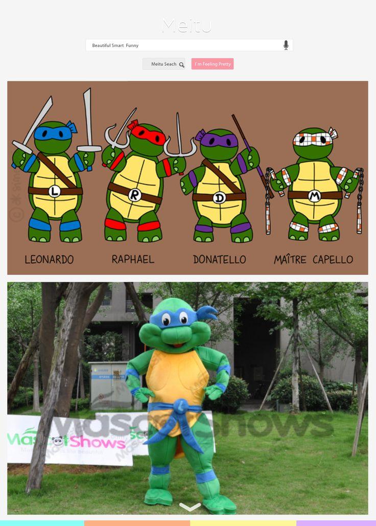 Mascotte de tortue ninja costume d guisement pour adulte - Mechant tortue ninja ...