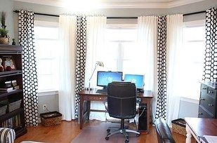 Or spray paint PVC pipe to create a seamless, custom curtain rod system. | 33 Ways Spray Paint Can Make Your Stuff Look More Expensive