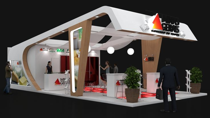 Stand Governo de Minas on Behance