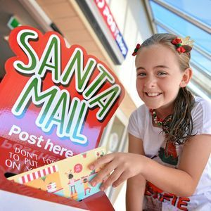 GYMPIE Post Office has an express line to Santa's Workshop in the North Pole and time is running out to get your letter to Santa.  #SantaMail