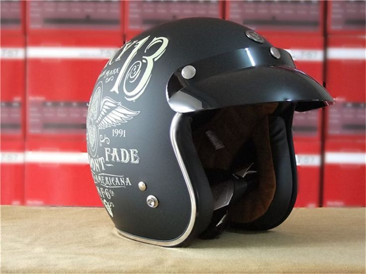Vintage Motorcycle Helmets with that retro look you