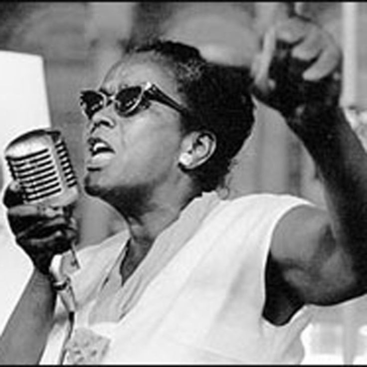 Civil rights activist Ella Baker worked with the NAACP, the Southern Christian Leadership Conference, and the Student Nonviolent Coordinating Committee.