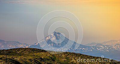 Kamchatka 2014 vulkan sunshine mountain