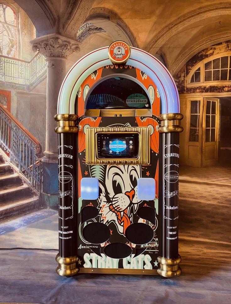 Strausser Jukebox Straycats in 2020 Jukebox, Vinyl