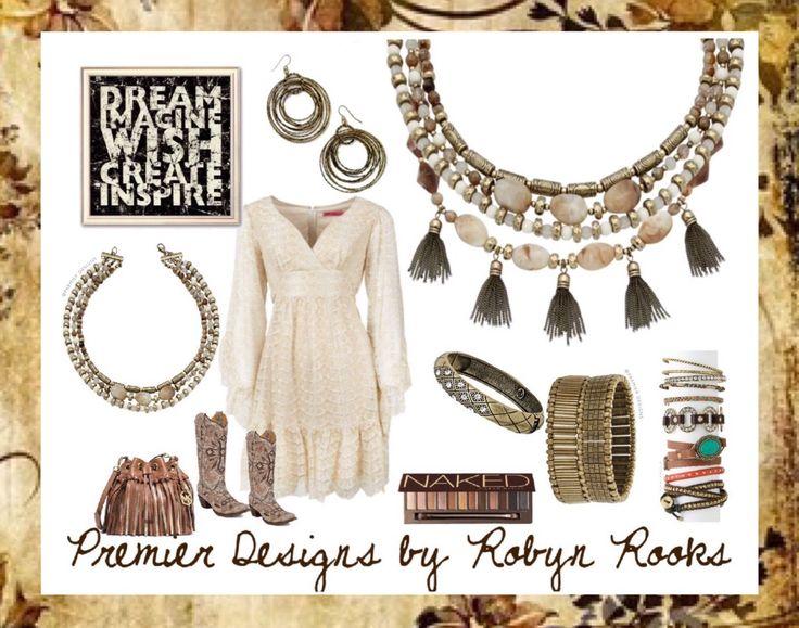NEW SPRING BLING!!  New Neutrals Necklace Comfy Cozy bracelet robynrooks.mypremierdesigns.com