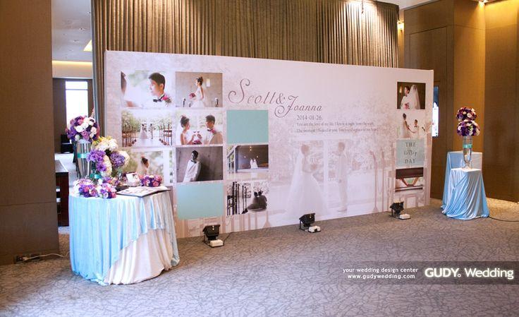 GUDY Wedding 婚禮設計 - 婚禮佈置 ♥ Tiffany Blue超夢幻婚禮佈置 X 艾美酒店