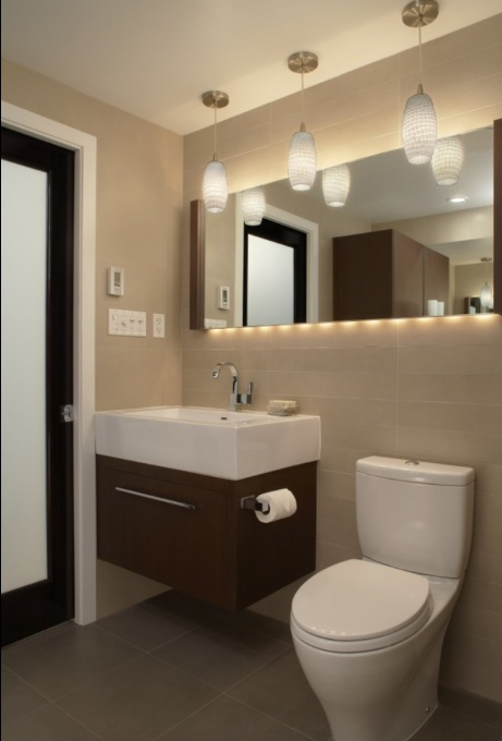 XStyles Bath Design Studio Bathroom | Contemporary | Detroit Forecast  Lighting
