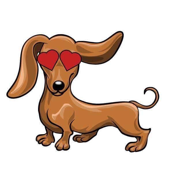 Salchichas Con Imagenes Dibujo De Perro Perros En Caricatura