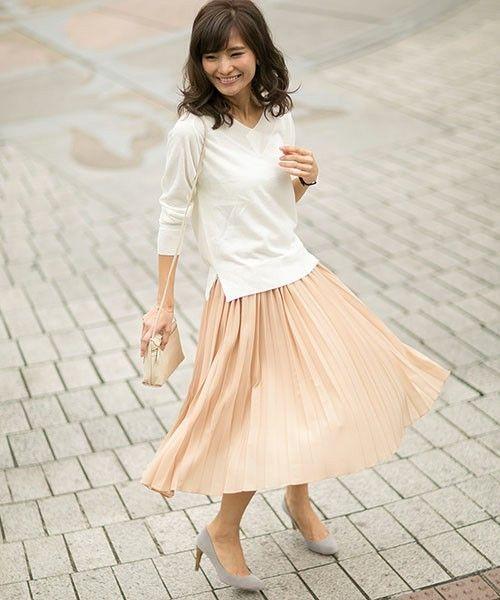 ゆるふわフェミニン♡ゆるふわタイプのファッションアイデア☆参考にしたいふんわりコーデスタイル♪
