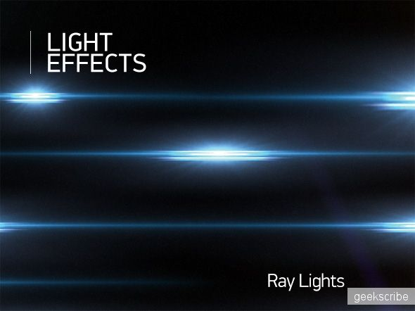 Световые эффекты PSD / Effects / Yagiro - сайт о дизайне и для дизайнеров