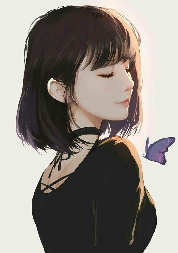 If She Dyed Her Hair She Would Look Totally Amazing Anime Art Girl Manga Art Anime