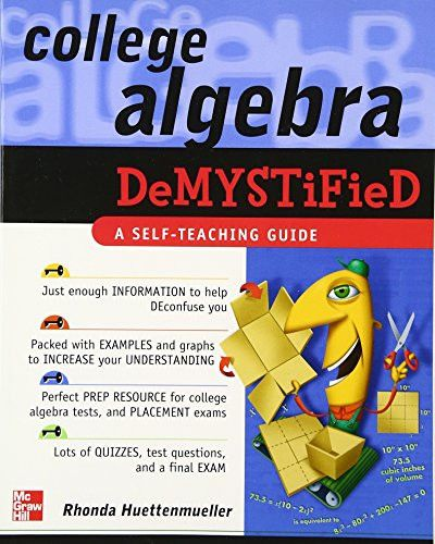 23 best education images on pinterest interesting facts learning college algebra demystified fandeluxe Images