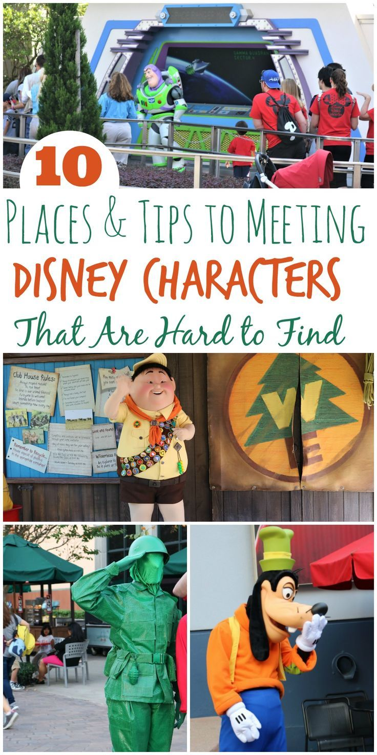 Planning a Disney Vacation? Make sure to add meeting Disney Characters to your list. Tips for finding rare character included!