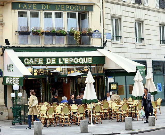 café quartier bastille