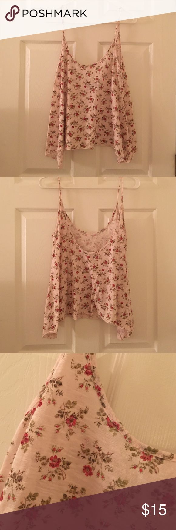 Brandy Melville Top Beautiful floral Brandy Melville top from their Rome, Italy store! Brandy Melville Tops