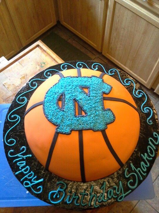 North carolina tar heel cake