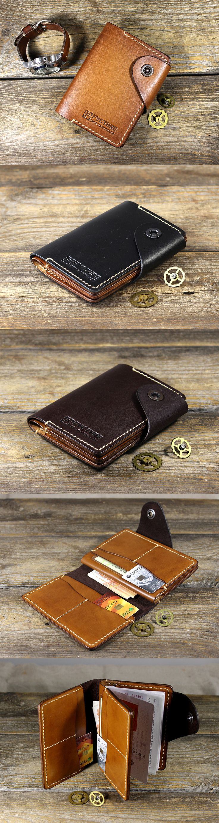 Leather cover for passport and other documents. Original accessory for necessary discount cards. Saddle skin, handwork. Extremely durable product. CardHolder CH-02. Size: 4.13'' by 5.51'' (10.5 by 14 cm). It is possible to apply your logo. For all questions, write +7 937 793-75-77 (Viber, WhatsApp) or ffacture@mail.ru