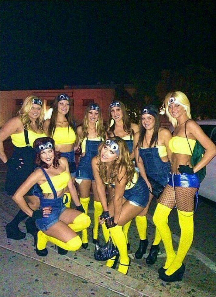 Teen go go girls halloween costume, horny teens public